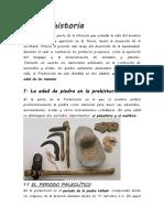 La Prehistoria 7°