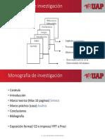 Monografía de Investigación