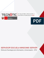 Servidor Windows 2017