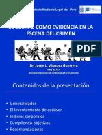 LEVANTAMIENTO DE CADAVER