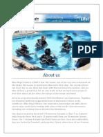 Padi Divemaster Training Program