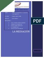 Analisis Critico de La Mediacion