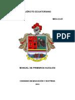 Manual de Primeros Auxilios Mig-32-01 2013