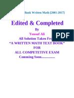 Bb Written Math