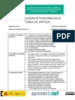 Plantilla Metodologías Activas para Aicle