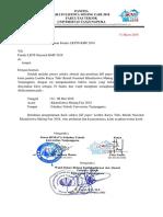 Surat Dan Lampiran Finalis LKTIN KMF 2018