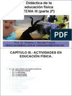 Didáctica de La Educación Física TEMA III (Parte 2ª)