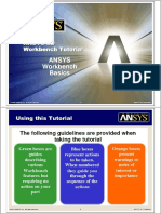 080421 ANSYS Workbench Tutorial
