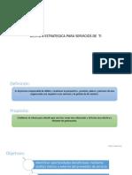 ITIL Gestion de Las Estrategias de Servicio de TI