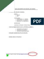 Geografía Descriptiva de España y de Europa . Ejercicios de localizaciones.