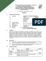 Sílabo Fenómenos de Transferencia-2018-CN