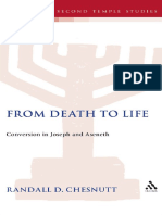 From Death to Life. Conversion in Joseph and Aseneth