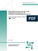 Clinical Effectiveness and Costs of the SUGAR BAKER TReatment Pseudomyxoma Peritonei