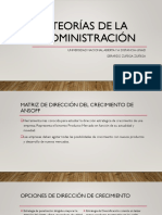 Tarea 2_TRABAJO COLABORATIVOT. TEORIAS DE LA ADMISNITRACION