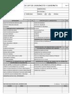 15. Check List de Camioncito y Camioneta V1