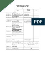 Event Schedule of ISWIRAP 3 Edit Ariati