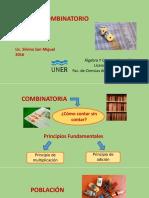 Diapositivas Analisis Combinatorio