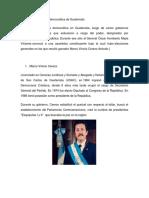 Presidentes de La Era Democrática de Guatemala