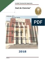 1ER Informe FISIK 2 2018