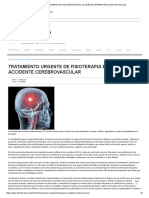 Tratamiento Urgente de Fisioterapia en El Accidente Cerebrovascular _ Efisioterapia