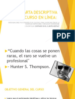 Carta Descriptiva Curso Tlp Gestalt