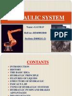 Hydraulic System(B 60)