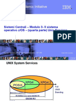 IBM Overview of ZOS and UNIX.italian