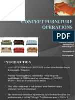 Concept Furniture Operations