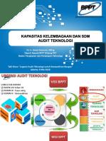 Kapasitas Kelembagaan dan SDM Audit Teknologi - Dr. Ir. Gatot Dwianto, M.Eng.