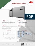 Huawei Sun2000-60ktl-Hv-d1-001 Datasheet Draft a en - (20170217)