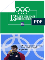 13 Lifes Lesson From Rio Olympics