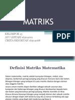 Matriks Ayu