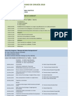 XXV Congreso Boliviano de Cirugia 2010
