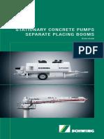 Stationary Pumps Range