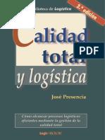 02CA007. Calidad Total y Logística (2a. Ed.)