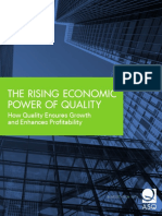 Rising Economic Power of Quality