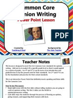 LESSON PLAN 4 POWERPOINT