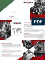 F Brochure Mafoder Group 2014 Fonderie Vrd