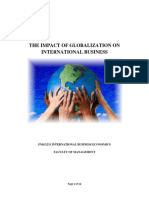 The Impact of Globalizationon International Business