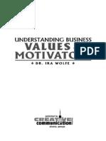 Understanding Business Values & Motivators