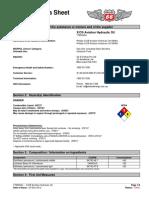 P66 XC Aviation Hydraulic Oil SDS