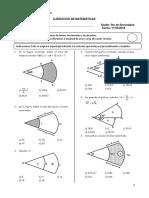 Problemas - Sector Cicular - Matematicas 5to Secundaria - YMCA