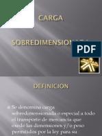 TRANSPORTE DE CARGA EXCESIVA