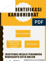 Uji Identifikasi Karbohidrat
