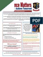 Attendance Matters Newsletter Summer 2018 Final