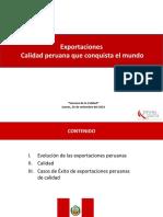 Calidad Peruana Exportación