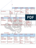 updated production schedule