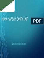 Nuha Nafisah Cantik Imut