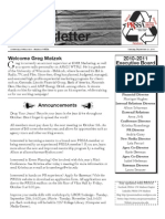 PRSSA UW-Madison Fall 2010 Kickoff Newsletter