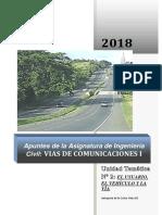 Apuntes Unidad 02 -El Usuario , El Vehiculo y La Via_2018